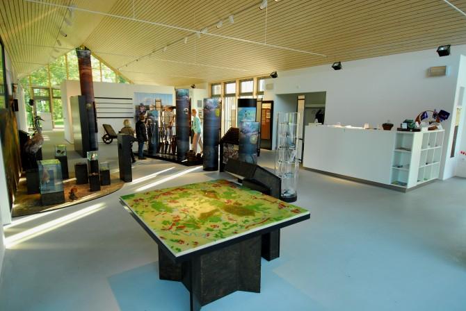 Ausstellung Überblick m. Karte